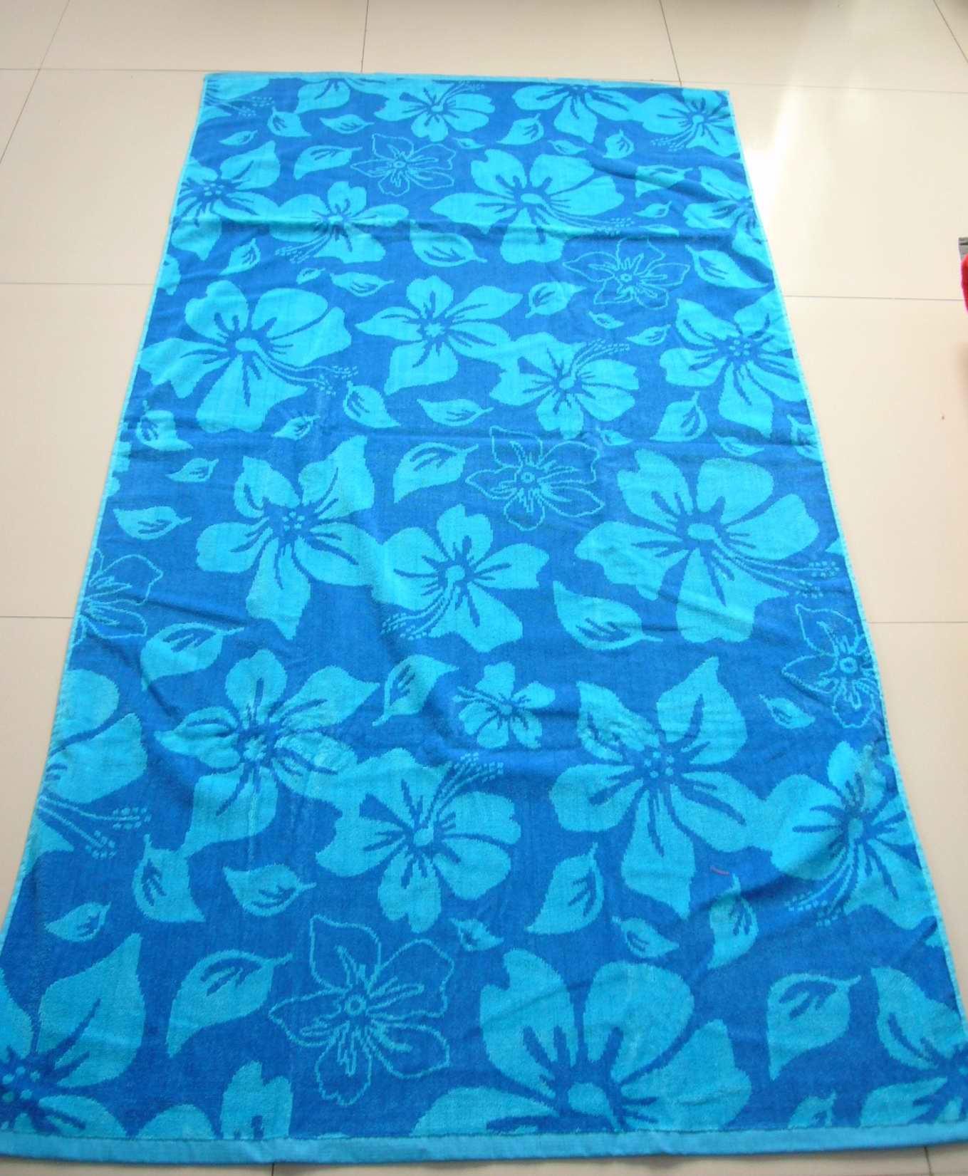 Beach Towel: 100% Cotton Adults Printing Beach Towel