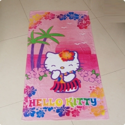 Hello Kitty Printed Beach Towels