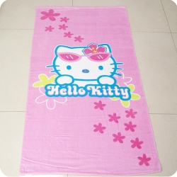 Hello Kitty Kids Printing Beach Towels